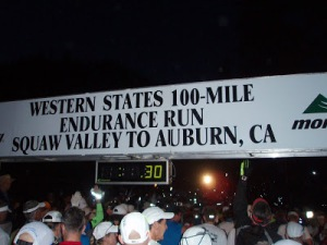 Western States 100 starting line