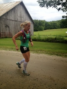 Denise pushing through at VT100