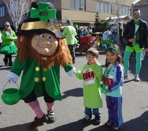 St. Patrick's Day Dash participants