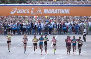 L.A. Marathon - From Stadium to Sea